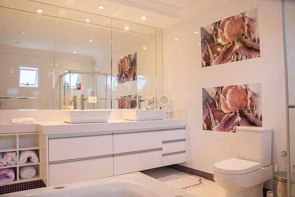 LED w łazience